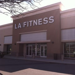 Photo taken at LA Fitness by Nick D. on 3/9/2012