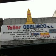 Photo taken at Taller Obelisco by Carlos O. on 11/30/2011