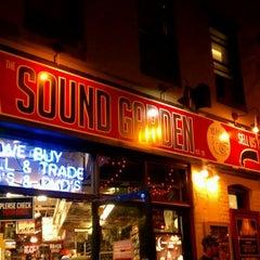 Photo taken at The Sound Garden by Seanna P. on 10/7/2011