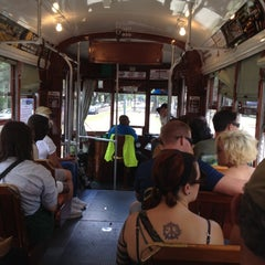 Photo taken at St. Charles Streetcar by Natalie B. on 4/15/2012