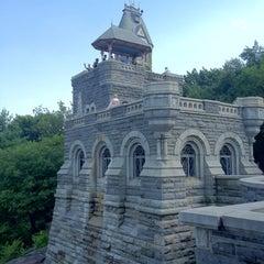 Photo taken at Belvedere Castle by Julio B. on 7/4/2012