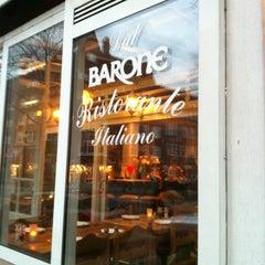 "Photo taken at Bistro ""Dal Barone"" by Krijn H. on 3/5/2012"