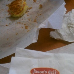 Photo taken at Jason's Deli by Carlos D. on 9/9/2012