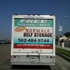 Photo taken at Norwalk Self Storage by Vivian C. on 9/13/2012