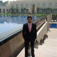 Photo taken at The Oberoi by Vishal T. on 4/7/2012