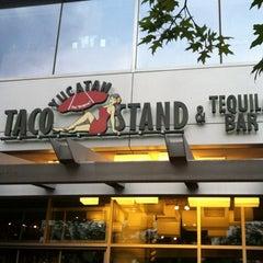 Photo taken at Yucatan Taco Stand by Tina B. on 6/9/2012
