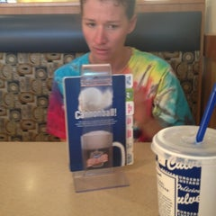 Photo taken at Culver's by Mya L. on 6/28/2012