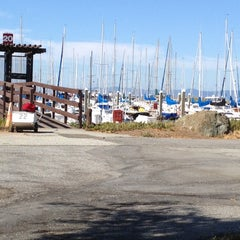 Photo taken at Coyote Point Yacht Club by Richard on 8/3/2012