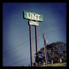 Photo taken at University of North Texas by Mohsen A. on 9/1/2012