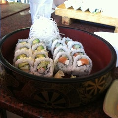 Photo taken at Daruma Sushi Bar by Megan F. on 9/13/2011