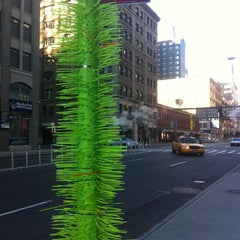 Photo taken at One Hudson Square by Masha A. on 1/15/2012