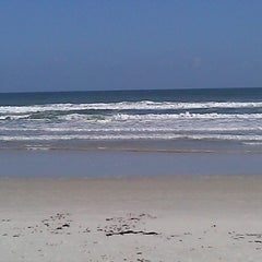 Photo taken at Wilbur-by-the-Sea Beach by Clara S. on 11/20/2011