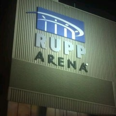 Photo taken at Rupp Arena by Chris W. on 1/26/2012