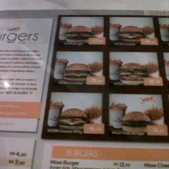 Photo taken at The Burgers on the table by Josy C. on 3/17/2012