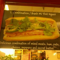 Photo taken at Nhu Lan Sandwich by Vicki Y. on 12/9/2011
