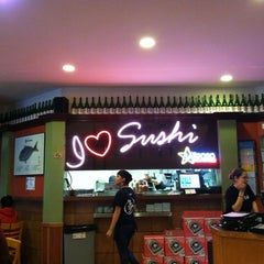 Photo taken at Sushi Deli 1 by Allison A. on 1/22/2012