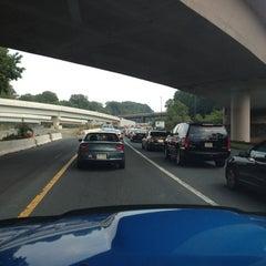 Photo taken at I-66 - Arlington / Fairfax County by Robert F. on 8/22/2012