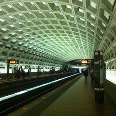 Photo taken at McPherson Square Metro Station by David S. on 4/4/2011