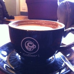 Photo taken at Coffee#1 by Abdullah A. on 2/22/2011