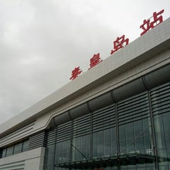 Photo taken at 秦皇岛站 Qinhuangdao Railway Station by john l. on 7/10/2012