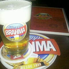 Photo taken at Quiosque Chopp Brahma by Fabio S. on 2/1/2012