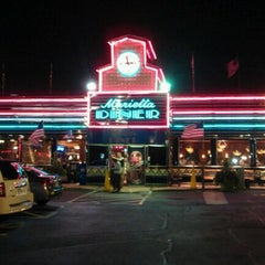 Photo taken at Marietta Diner by Vincent M. on 9/24/2011