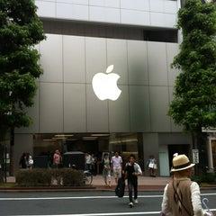 Photo taken at Apple Store 渋谷 by Fairuz Z. on 7/1/2012