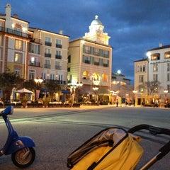Photo taken at Loews Portofino Bay Hotel at Universal Orlando by Rosie H. on 2/14/2012