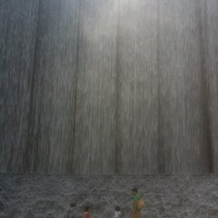 Photo taken at Gerald D. Hines Waterwall Park by Veronica P. on 9/25/2011