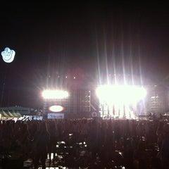 Photo taken at 2012 인천 펜타포트 락 페스티벌 (2012 Incheon Pentaport Rock Festival) by Sang P. on 8/15/2012