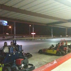 Photo taken at Rockwood Go-Karts by Heather O. on 7/15/2012