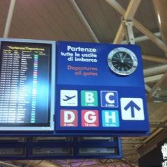 Photo taken at Terminal 1 by alisa k. on 4/6/2012