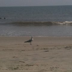 Photo taken at Atlantic ocean Tybee Island by Danielle V. on 9/2/2012