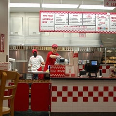 Photo taken at Five Guys by Cecile on 8/10/2012