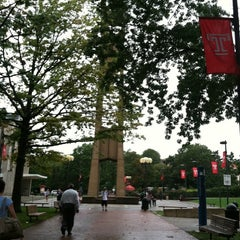 Photo taken at Temple University by Suzanne on 9/8/2011