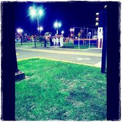 Photo taken at Parque Esmeralda by José M. A. on 4/17/2012