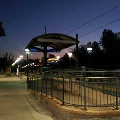Photo taken at RTD Downtown Littleton Station by Patrick K. on 9/5/2012