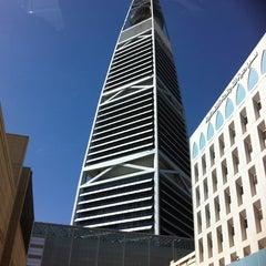 Photo taken at Al-Faisaliah Tower | برج الفيصلية by aL-Maha on 1/24/2012