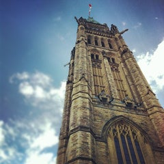 Photo taken at Parliament Hill by Aimless A. on 6/29/2012