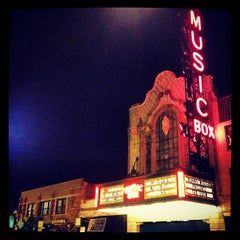 Photo taken at Music Box Theatre by Tony M. on 3/26/2012