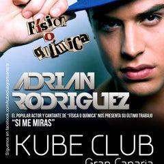 Photo taken at KUBE CLUB Gran Canaria by Dani A. on 4/25/2012
