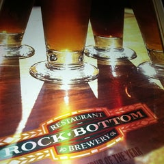 Photo taken at Rock Bottom Brewery by Keith C. on 3/12/2011