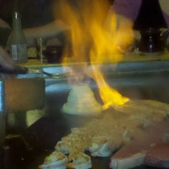 Photo taken at Ichiban Japanese Steakhouse And Sushi Bar by Lee L. on 4/17/2011
