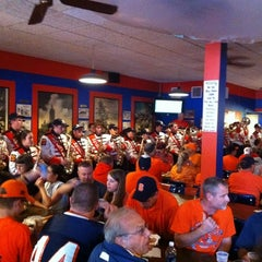 Photo taken at Varsity Pizza by Wil S. on 9/24/2011