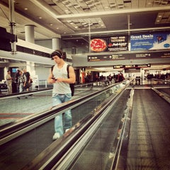 Photo taken at Gate B16 by Ong A. on 6/28/2012