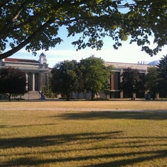 Photo taken at Syracuse University Quad by Terence N. on 7/29/2012