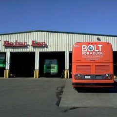 Photo taken at Peter Pan Bus Lines Maintenance Center by Trevor L. on 10/17/2011