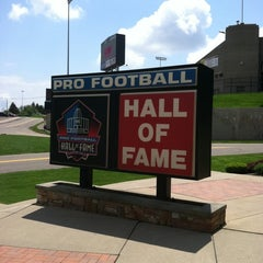 Photo taken at Pro Football Hall of Fame by Sherri H. on 5/19/2011