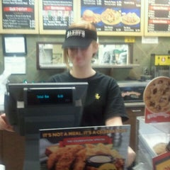 Photo taken at Zaxby's by Doug P. on 10/24/2011