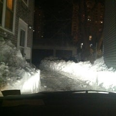 Photo taken at Snowpocalypse 2011 - Milwaukee by Zach W. on 2/4/2011